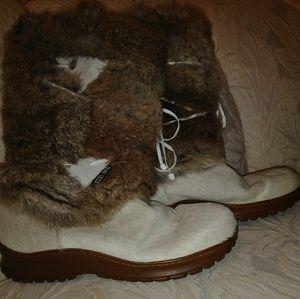 Shoes - Diavolezza fur boots